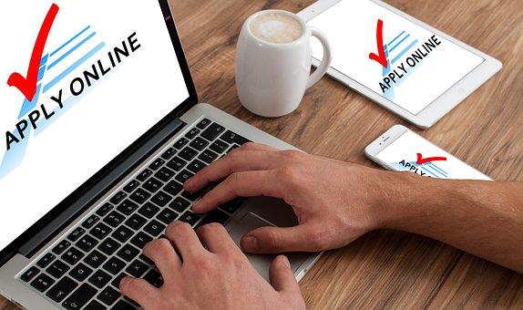 Application, Online, Macbook, Request
