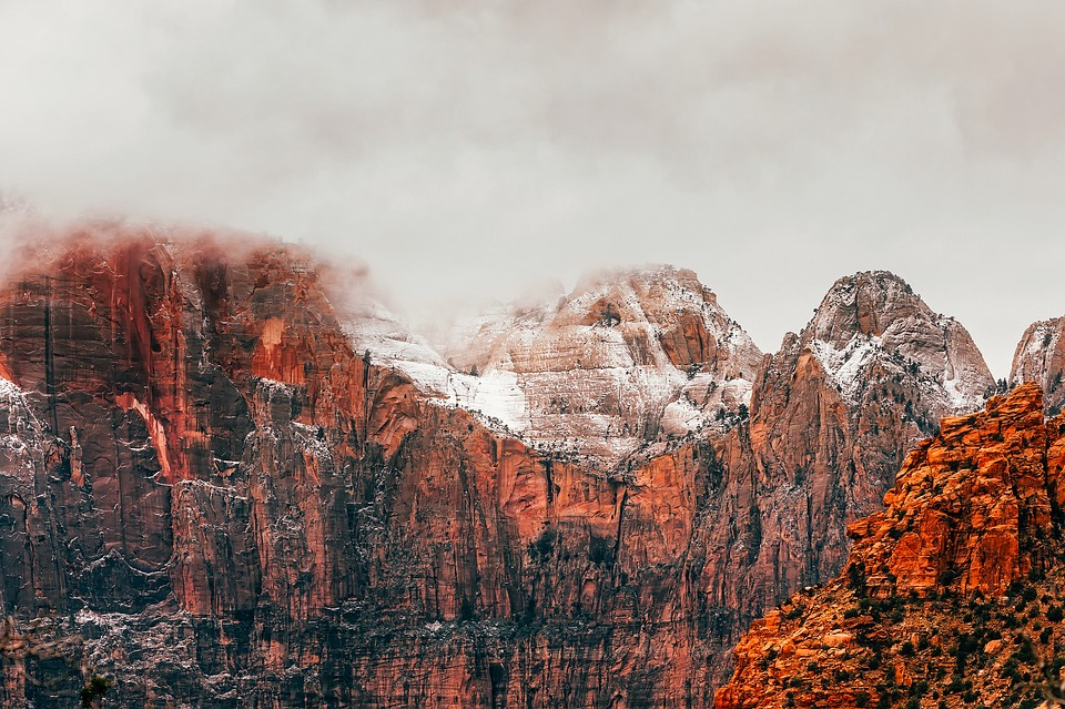 Visiting Zion National Park in winter helps you enjoy dramatic landscapes without the crowds