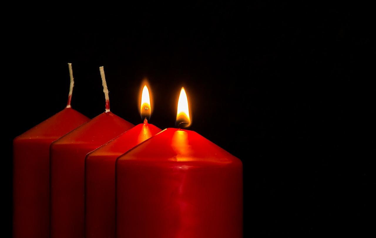 Advent, 2 Komst, Komst, Advent Kaarsen