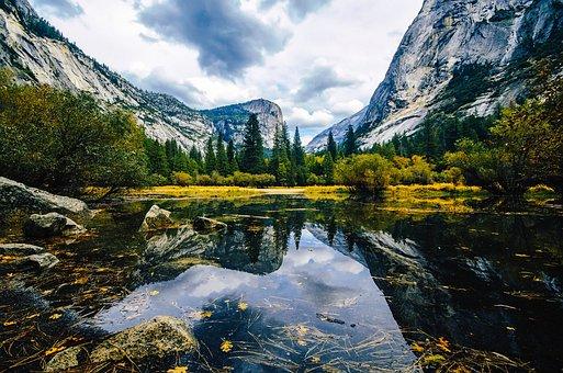 Mirror Lake, Yosemite, National Park