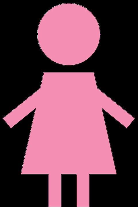 Kostenlose illustration m dchen rosa symbol weiblich kostenloses bild auf pixabay 1884776 - Bonhomme fille ...