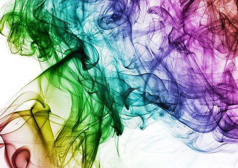 Colour, Smoke, Rainbow, Color, Design