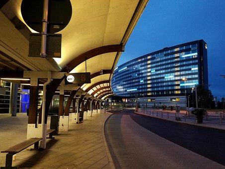 Stockholm Sweden Airport Bus Terminal Bus