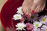 stopa, pedicure, spa