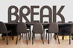 conference, break, interruption