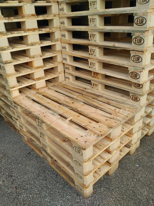 palets europalet almacn madera apilado - Europalets