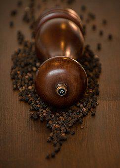 Pepper, Pepper Mill, Sharp, Benefit From