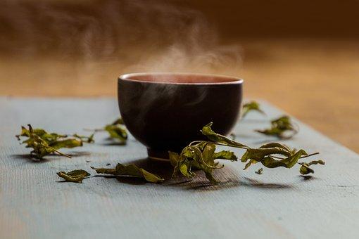 Tee, Teacup, Green Tea, Steam, Hot Tea