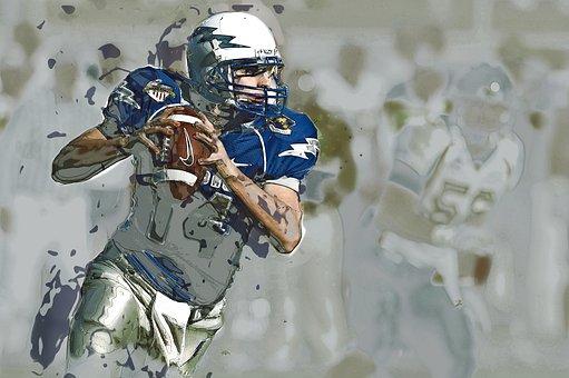 Quarterback, American Football, Sport