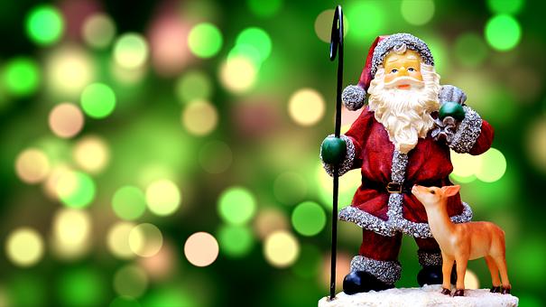 Natal, Papai Noel, Bonito, Fig