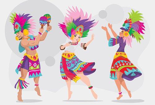Sinulog Dançarina, Dança Étnica, Meninas
