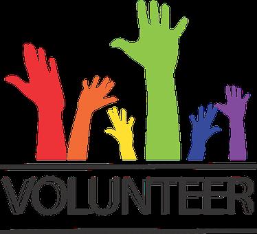 ボランティア, ポスター, イラストレーター, デザイン, コミュニティ