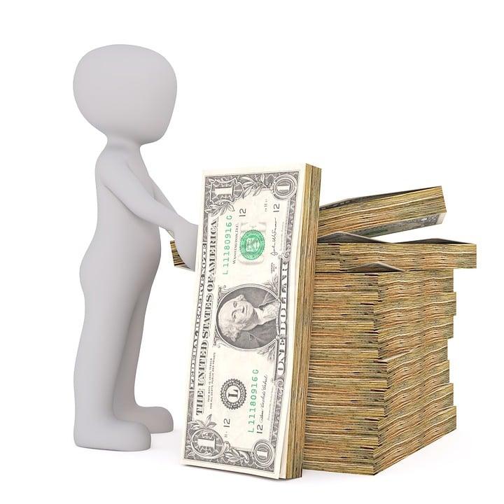 Dollar Usa Paper Money White - Free image on Pixabay