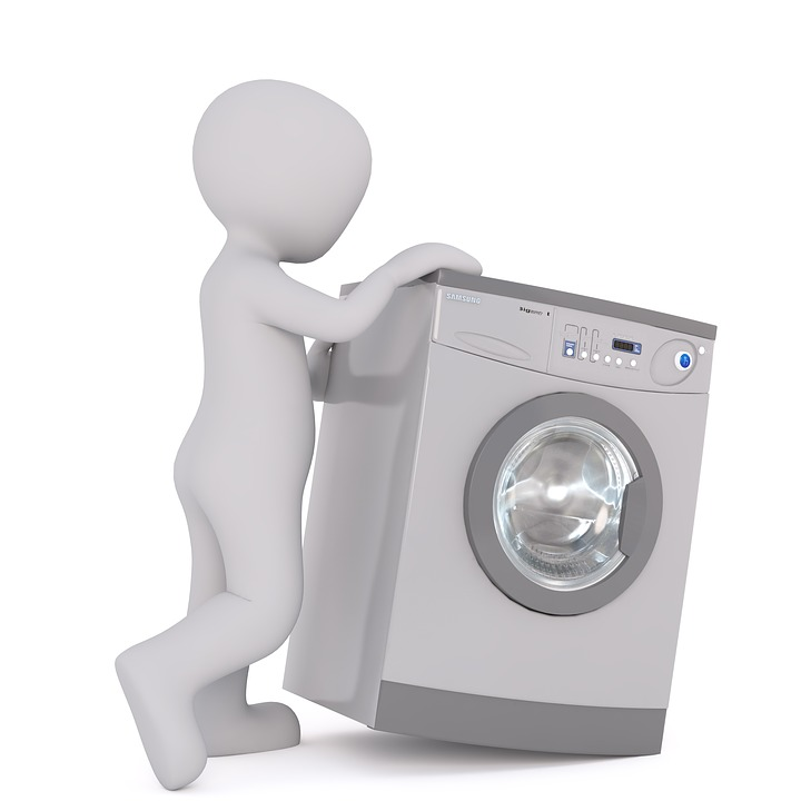 Washing Machine White Male 3D - Free image on Pixabay