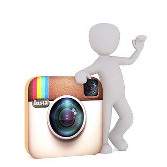 Instagram, White Male, 3D Model, How to Edit Pics on Instagram