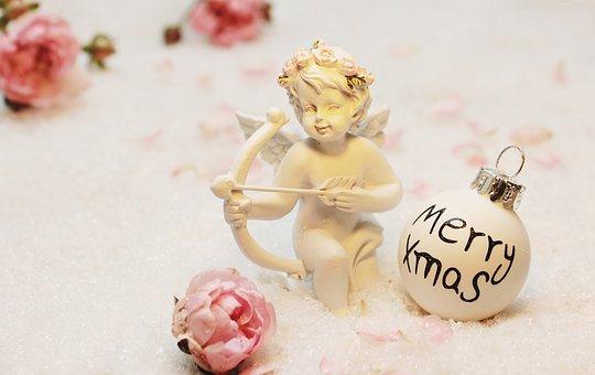 Love Angel, Angel, Amor, Merry Xmas