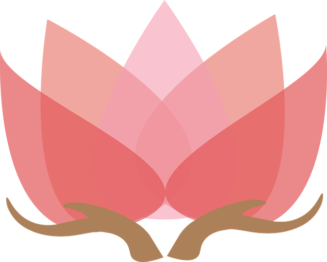 Free vector graphic: Lotus With Hands, Lotus, Design ...