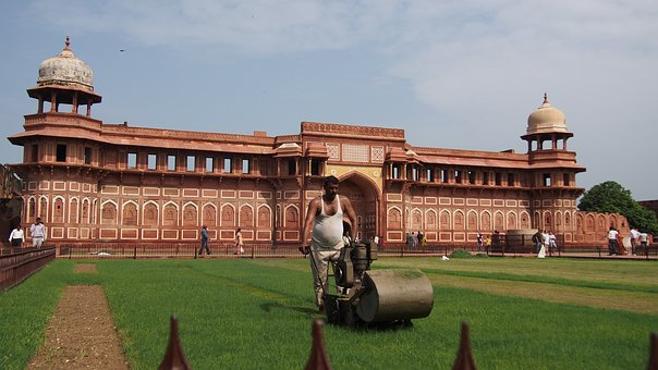 Agra Fort, Red Building, Architecture
