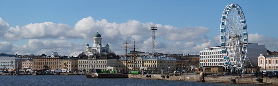 Panorama Of Helsinki, Helsinki, Cathedral, Ferris Wheel