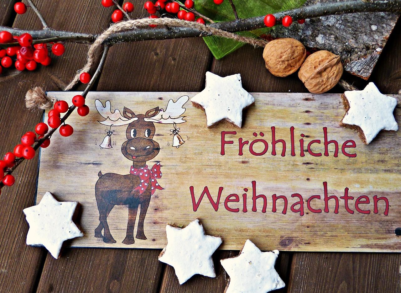 Открытка поздравление, открытки с рождеством на немецком фото