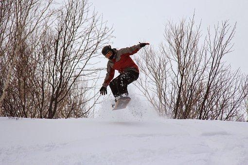 Snowboarding, Winter, Snow, Snowboarder