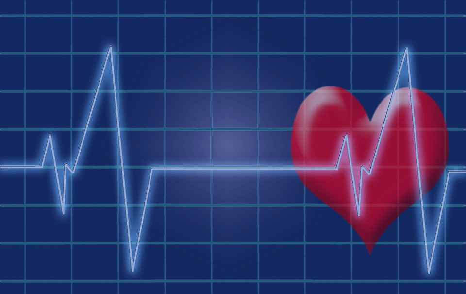 Herzschlag, Puls, Herz, Ekg, Elektrokardiogramm