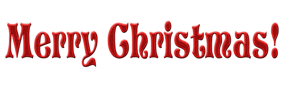 Text Words Message · Free image on Pixabay Merry Christmas Text Png