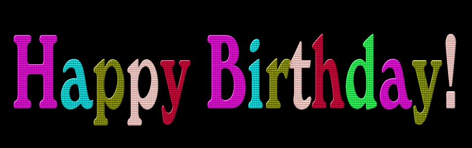 Free illustration: Happy Birthday Text, Text, Birthday - Free Image on ...