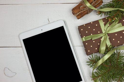 計算されました。, Ipad のミニ, デジタル タブレット, クリスマスの装飾