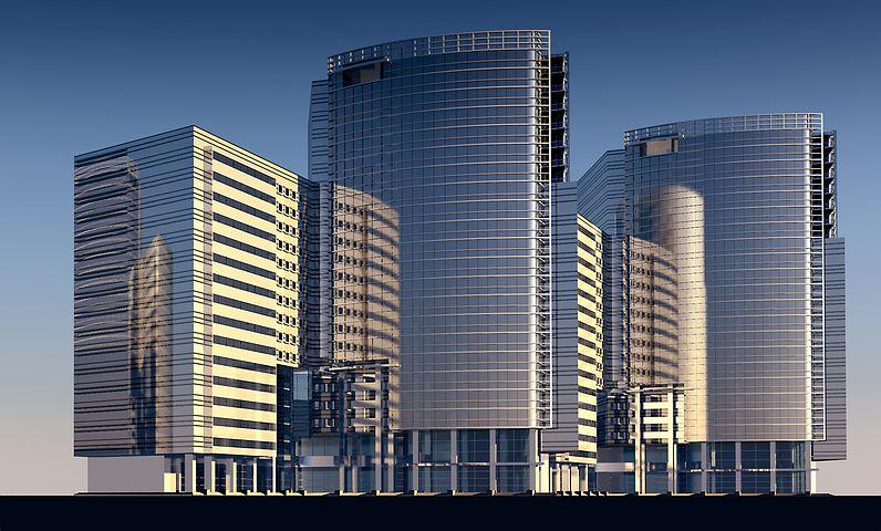 高層ビル, 建物, 高, 都市, 構造, 市, アーキテクチャ, 都市計画