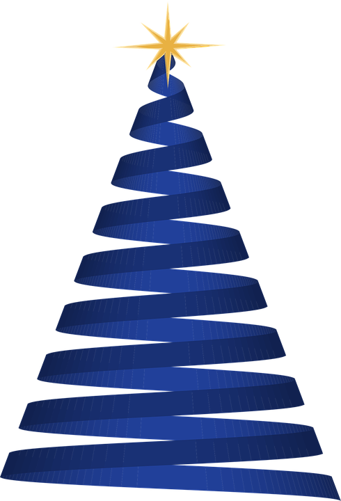 christmas tree blue holiday christmas tree xmas - Christmas Tree Blue