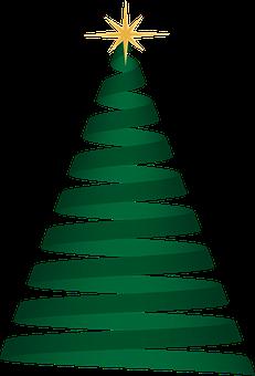 Boże Narodzenie, Drzewo, Zielony