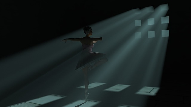 Free Illustration Ballet 3d Dance Shadows Dance Free