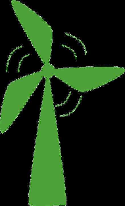 Wind Turbine Renewable Energy Free Vector Graphic On Pixabay