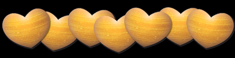 Heart, Shimmer, Gold, Festive, Celebrate
