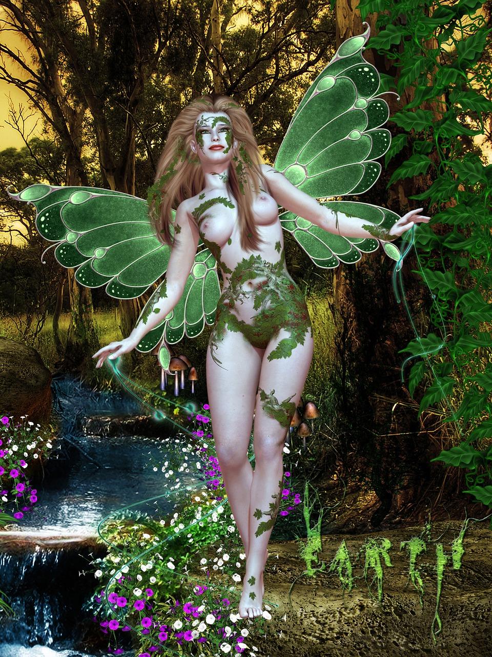 Nude fairy photographs