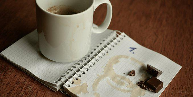 Notebook, Plan, Dates, Coffee Cup, Break