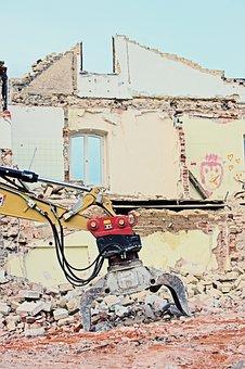 Demolition, Demolition Excavator