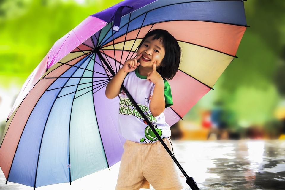 little girl umbrella free photo on pixabay