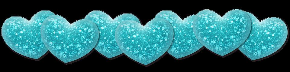 Heart Shimmer Turquoise 183 Free Image On Pixabay