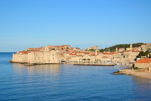 Dubrovnik Croatia Port Adriatic Sea Histor