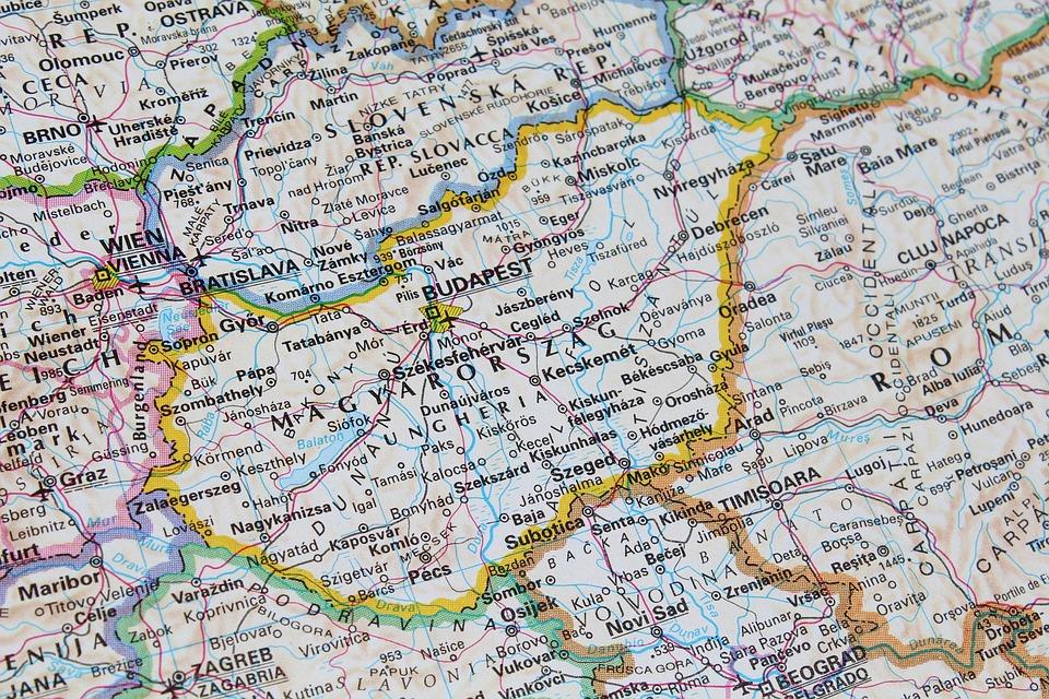 Hungary Budapest Map · Free photo on Pixabay