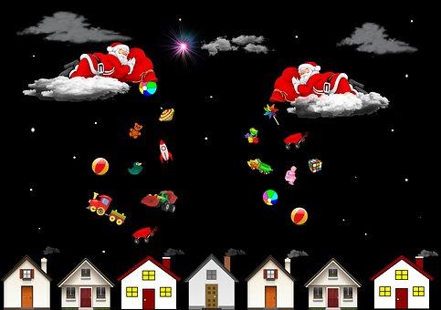 Christmas, Merry Christmas, Red