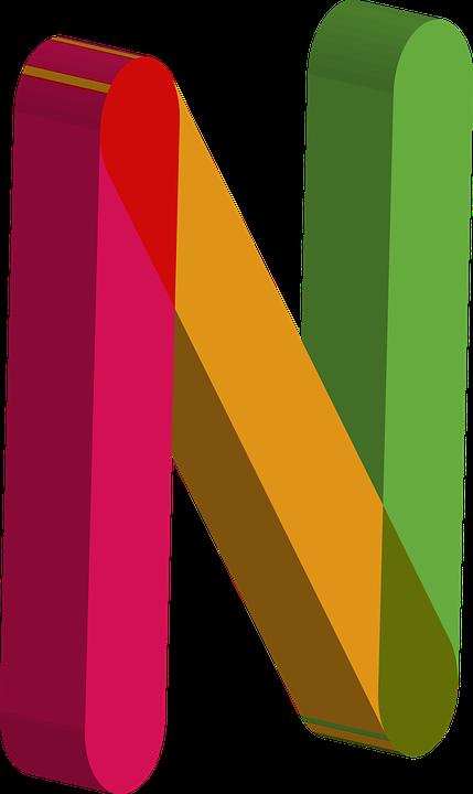 Alphabet 3d albhabet letters free image on pixabay - N letter images ...