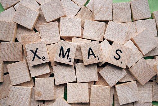 圣诞节, 字母词, 度假, 褐色的信