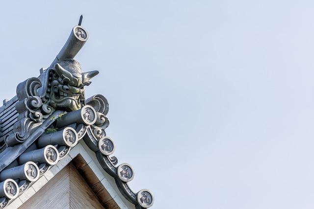 photo gratuite temple japonais toit japon asie. Black Bedroom Furniture Sets. Home Design Ideas