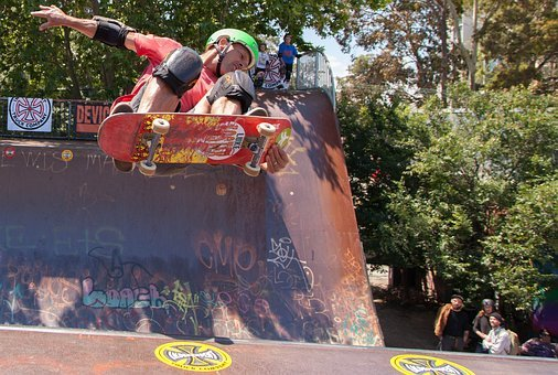 Skate, Skateboarding, Ramp, Skateboard