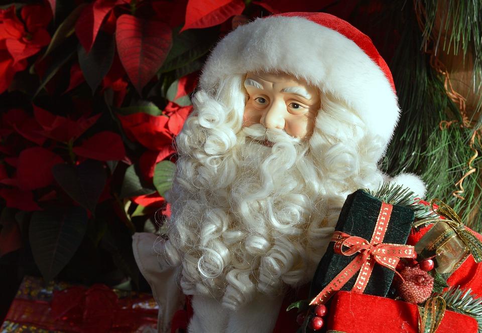 santa claus christmas presents gifts winter xmas - Santa Claus Presents