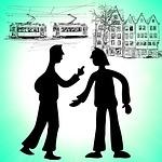fight, quarrel, criticize