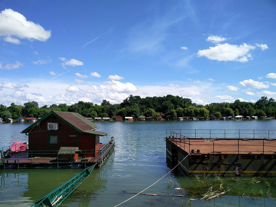 Sava, Sava River, Summer, Belgrade, Boathouse